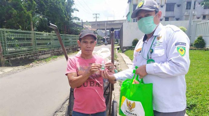 Baznas Kota Bogor Ajak Masyarakat Bantu Mereka yang Terdampak Covid-19